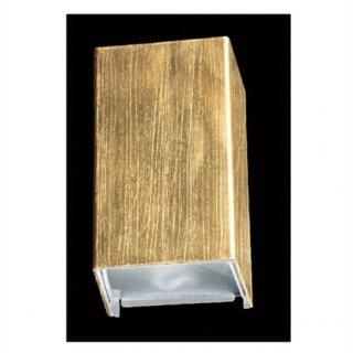 LED Wandleuchte Rebox, 10W, up & down, gold