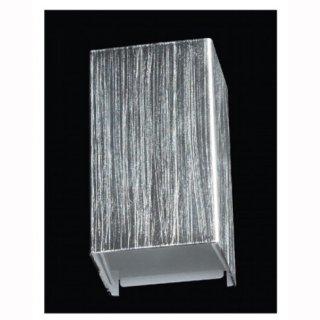 LED Wandleuchte Rebox, 10W, up & down, silber