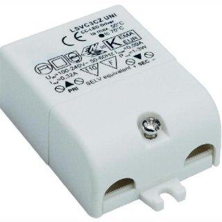 LED Trafo 3W 350mA - nur in Serienschaltung!