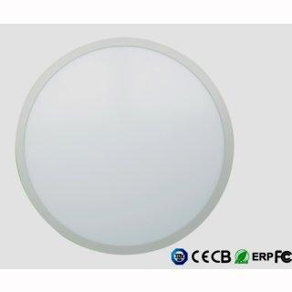 Panelleuchte flach, rund, LED 50W, D 60cm, Lochausschnitt 59cm
