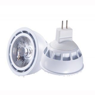 MR16 LED Spot 5W Sharp COB, 45°, dimmbar, CRI >95, 450lm, 2700 / 3000K