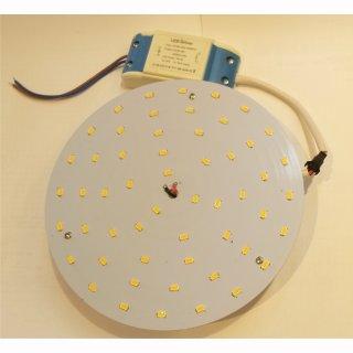 Downlight-LED-Inlay Set 18W, rund 180mm mit Trafo und Magnethaltern