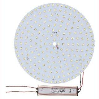 Downlight-LED-Inlay Set 35W, rund 305mm mit Trafo und Magnethaltern