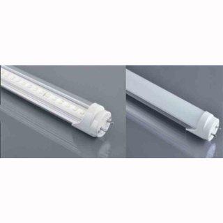 T8 LED-Röhre 150cm 23W 4-stufig dimmbar, (mit Starter) high CRI>82, drehbar, milky