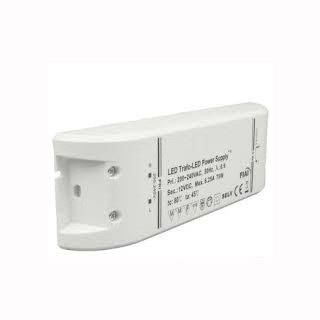 Gleichstrom-LED-Trafo 12V, 0-70W, flach 112022