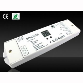 MikaLux Premium-Line Dali Dimmer SR-2303BEA 4x8A