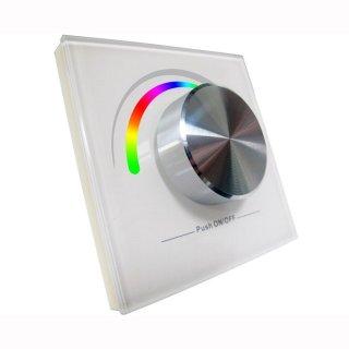 RGB 4 Kanal 2 Zonen Wand-Einbau Funk Fernbedienung 2805RGB (passend für 2501RGB)