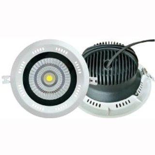 Downlight Sharp 25W  mit Trafo, Einbauring weiß starr DA=160mm