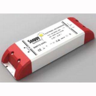 Gleichstrom-LED-Trafo 12V/24 DC  0-60W  TÜV CE MM flach breit VF