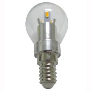 Kugelbirne LED E14 3W klar, 250lm, SMD high CRI dimmbar 30-100%