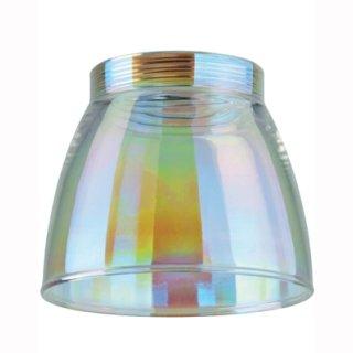 URail Glas Wolbi Dichroic Regenbogen, Tulpenform, für Basic-Spot oder Pendulum, 600.11