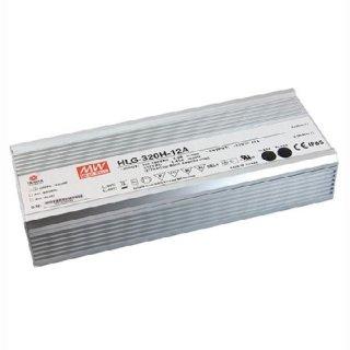 MeanWell LED Trafo HLG 320H-24B Gleichstrom 320W IP67 24V DC, 0-10V dimmbar