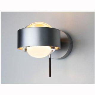 LED Wandaufbaulampe PUK Wall MAXX + drehbar Ø120mm, 2x12W