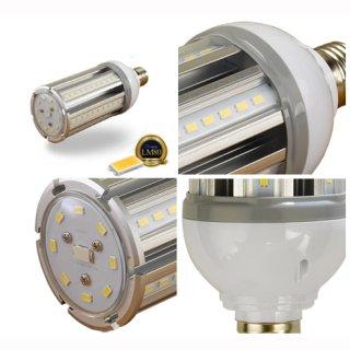 LED Kornlampe 27W Samsung IP44 360° E27/E40, 2800lm