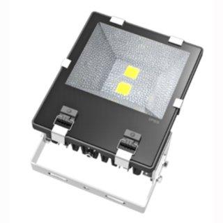 LED Floodlight 100W IP65 120° 2x50W Bridgelux COB Professional mit Bewegungssensor