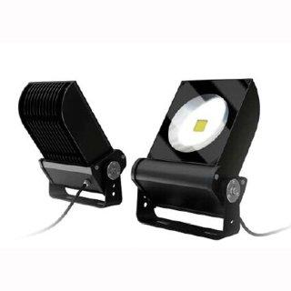 Mikalux LED Design Floodlight Versat 100W IP65 120° Bridgelux COB Professional weiß silber schwarz