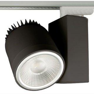 Stromschienenstrahler 35W COB LED,  Focus 30-70°, 3000K / 4000K