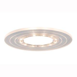 Deko Two Step inkl.LED Ring Shine, Klar/Acryl, 1W, DC 12V, 2700K