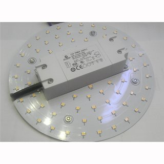 Downlight-LED-Inlay Set 12W, 1290lm, rund 160mm mit Trafo und Magnethaltern