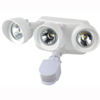 LED Spotlight  IP65  3x20° COB mit Bewegungsmelder 3x12W