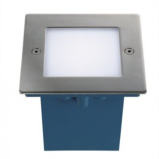 Bodeneinbauleuchte LED Frame 2W 40lm 3000K edelstahl IP44