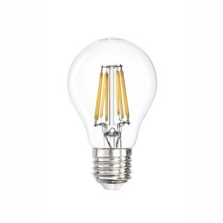 LED Fadenbirne,  E27, Filament, 6,5W, klar 360°, warmweiss 2700K, 700lm