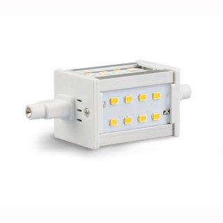 R7s LED-Lampe 5W, 78mm, 2700 oder 4200K, 3-seitig, 432lm