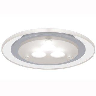 Möbeleinbauleuchten-Set Micro Line Deco LED, Chrom matt, 3er Set, Warmweiß 935.43