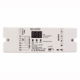 DMX512 Decoder Modul 12-24V 3x2A