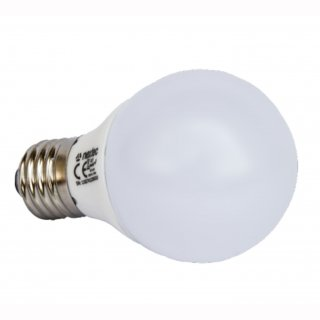 LED Kugelbirne 5,5W 470lm opal 200°, warmweiss 3000K