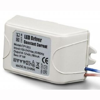 LED Konstantstromtreiber 350mA DC 1-4,2W IP20