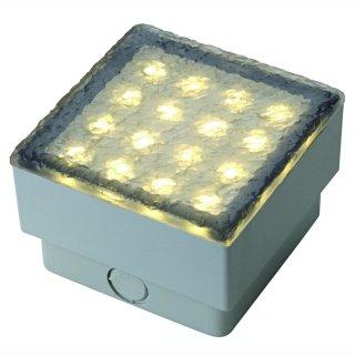 LED Stein 3W, 3000K 10x10cm IP67