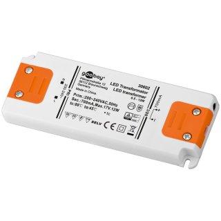 LED Konstantstromtrafo 700mA DC 0,5-12W - nur in Serienschaltung!