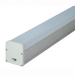 LED Lichtband square 120, 48W, Alu elox, 120cm, Decke oder Pendel