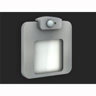 LED Wandleuchte Ledix Moza,  IP20, 230V, Bewegungsmelder und Dämmerungsfunktion