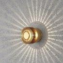 LED Wandlampe Monza 3W IP54 warmweiss