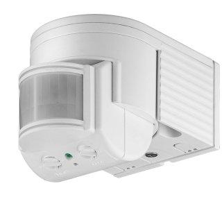 Bewegungsmelder, ODA, IP44, Aufputz, 180°, 12m Wirkradius, min. 1W, max 300W LED