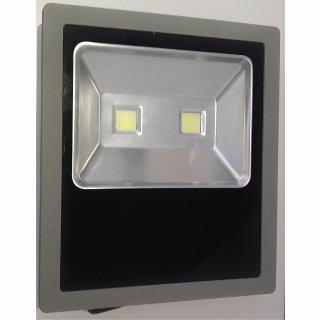 LED Floodlight 100W IP65 120° 2x50W COB silbergrau