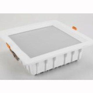 Downlight 15W quadrat weiß Ausschnitt 210x210mm