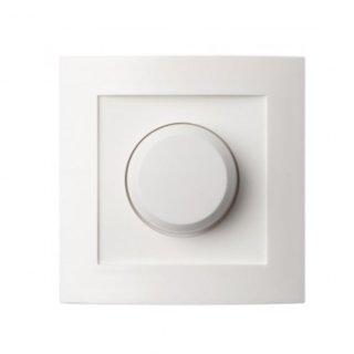 LED Einbaudimmer,  Hotelschaltung, mit Drehknopf,  5- 150W, 230V