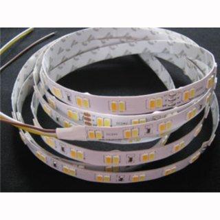 Flex Stripe Dualweiß SMD 5630/120, WW+ NW, 28,8 W/m, 24V, IP20